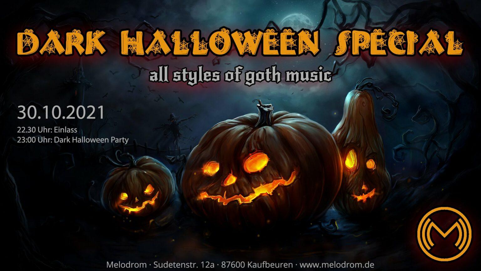 Dark Halloween Special @Melodrom